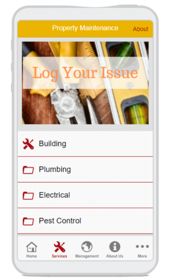 App Log Your Issue